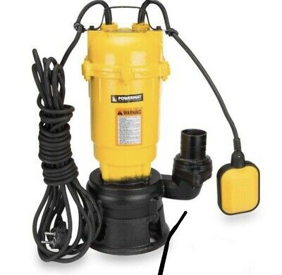 Pump Iron 3300W STRONG Dirty Water 30000L/h Sewage Submersible Garden Shredder