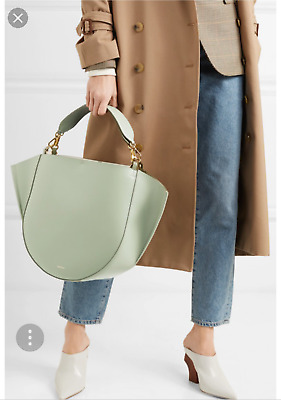 7d9b8a90faae WANDLER MIA GREEN Calf Leather Tote - NWT - from Net A Porter ...