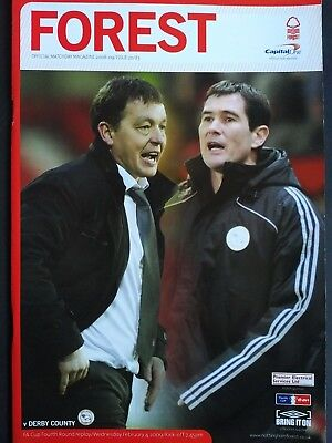Nottingham Forest v Derby County 4/2/2009 FA Cup 4th Round Replay