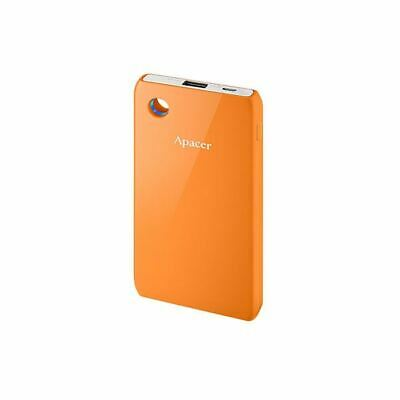 External Power Bank Portable Mobile Battery Fast Charger Back-Up 6000mAh Orange