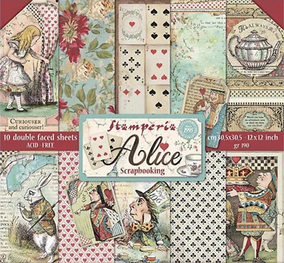 Stamperia Alice Paper Collection Pad