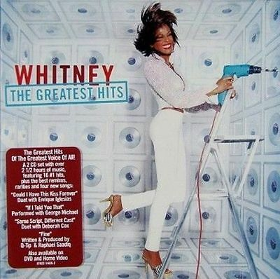 The Greatest Hits by Whitney Houston (CD, May-2000, 2 Discs)..NEW & SEALED..****