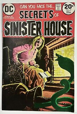 Secrets Of Sinister House # 14 - Dc Comics - October 1973