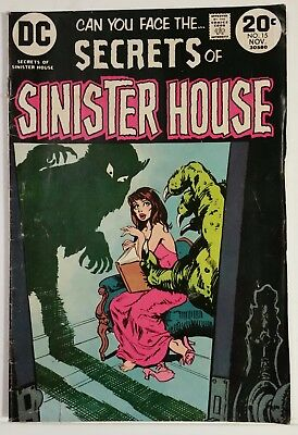 Secrets Of Sinister House # 15 - Dc Comics - November 1973