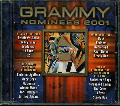 Grammy Nominees 2001 by Various Artists (CD, Feb-2001, Capitol)