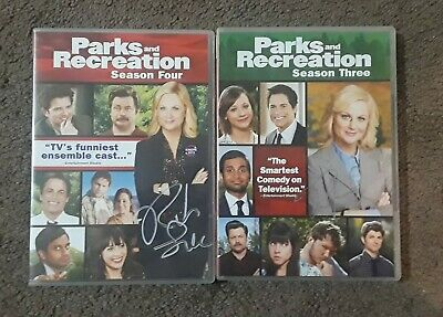 Parks and Recreation: The Complete Series DVD - Autographed by Rob Lowe