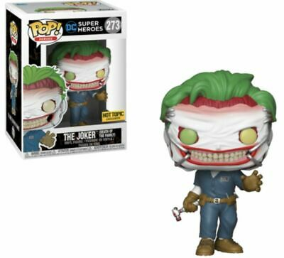 Funko Pop DC Super Heroes #273 Joker Death of the Family Hot Topic Excl PreOrder