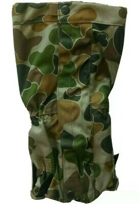 Auscam Dpcu Gaiters 900 Denier Double Waterproof Coat Military / Cadets / Army