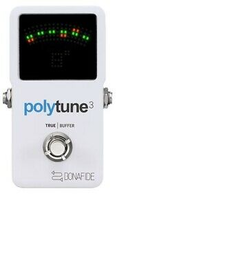 TC Electronic Polytune 3 - Polyphonic Tuner Pedal for Guitar