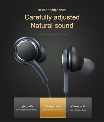 Earphones Headphones Narphones Handsfree For AKG Samsung Galaxy S9 8  Note NEW