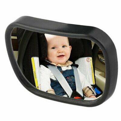Baby Car Seat Rear View Mirror Facing Back Infant Toddler Ward Safety W/ Sucker