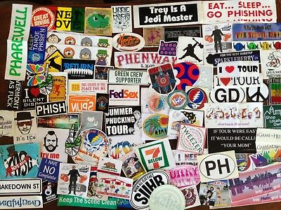 5 Phish stickers lot 2018 tickets halloween tour poster  Mexico Msg Nye