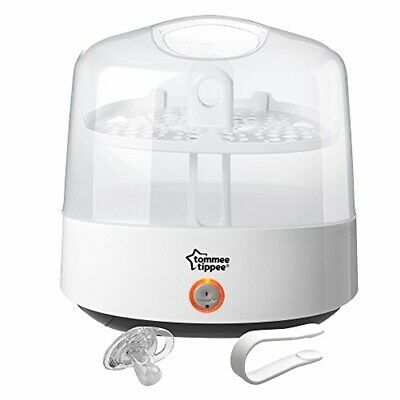 Tommee Tippee Electric Steam Baby Bottle Sterilizer - Sterilizes in 5 minutes -