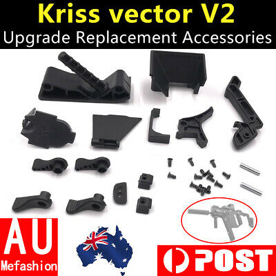 Gel Ball blaster Black parts replacement accessories For LeHui Kriss vector v2