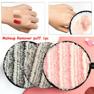 Magical Tools Cleansing Cloth Pads Plush Puff Face Cleaner Makeup Remover Towel