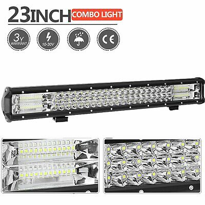 "23inch 3030 LED Light Bar Spot Flood Offroad Driving Work 4x4 Truck 20"" 23"""