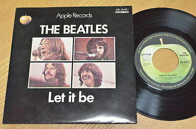 "The Beatles - Let It Be / 7"" Insert Japan AR-2461"