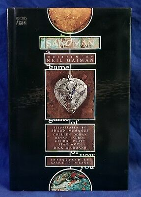 The Sandman: A Game of You by Neil Gaiman - Hard Cover - First Edition