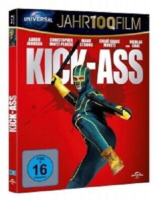 Vaughn/johnson/+ - Kick-Ass Jahr100Film  Blu-Ray Komödie Spielfilm New