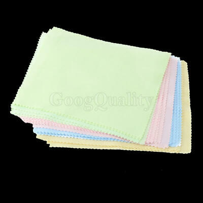 20Pcs Microfiber Phone Screen Camera Lens Glasses Square Cleaner Cleaning Cloth
