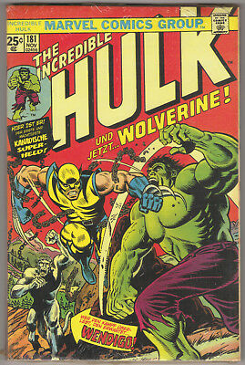 INCREDIBLE HULK #181 *GERMAN VARIANT* 1st app. Wolverine! NEW! MARVEL 1999 #180