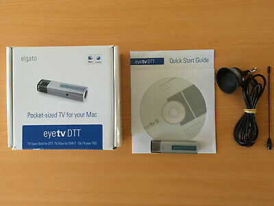 Elgato eyetv DTT  Tv Tuning Stick For DTT Mac And PC. Excellent condition.