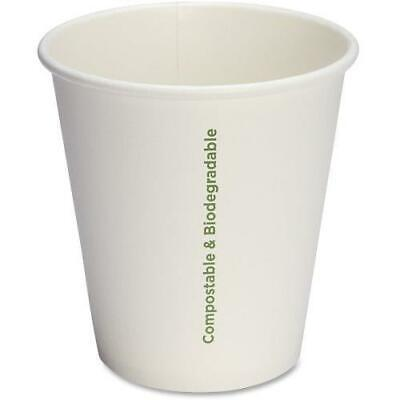 Genuine Joe Eco-friendly Paper Cups, 10 oz, 1000/Carton (GJO10214CT)