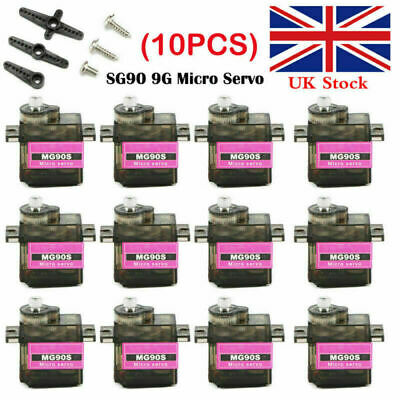10pcs Micro SG90 9G Servo Motor RC Robot Arm Helicopter Airplane Remote Control