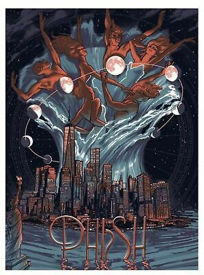 Phish MSG NYE 2017 - 2018 Print by Rich Kelly r #d Of 1000 Poster New York