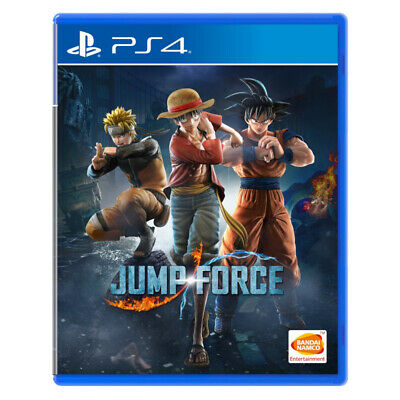 Jump Force PlayStation PS4 2019 Chinese Factory Sealed