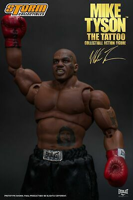 Storm Toys 1/12th Scale Tattoo Version Boxing Champion Mike Tyson Action Figure