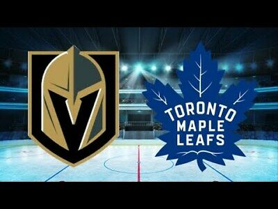 *(2)Tickets Sec 209 Row B Vegas Golden Knights VS Toronto Maple Leafs 2/14/19*