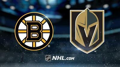 *(2)Tickets Sec 209 Row B Vegas Golden Knights VS Boston Bruins *2/20/19*