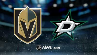 *(2)Tickets Sec 209 Row B Vegas Golden Knights VS Dallas Stars *2/26/19*