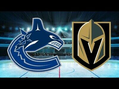 *(2)Tickets Sec 209 Row B Vegas Golden Knights VS Vancouver Canucks  *3/3/19*