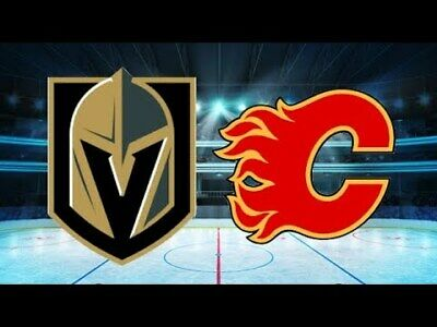 *(2)Tickets Sec 209 Row B Vegas Golden Knights VS Calgary Flames *3/6/19*