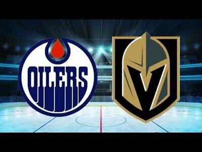 *(2)Tickets Sec 209 Row B Vegas Golden Knights VS Edmonton Oiiers *3/17/19*