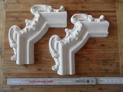 Stucconovo* Eck-Zierelement * Stuck*Gips* decorative plaster moulding*stucco