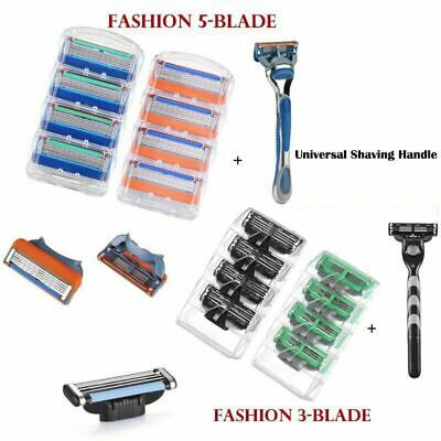 3/5Blades For Gillette Fusion Razor Shaving Shaver Trimmer Refills Cartridges NE