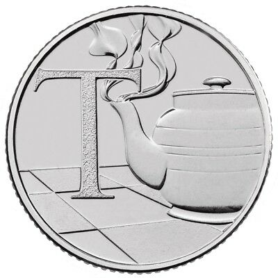 2018 NEW Uncirculated 10p Coin (T) Tea By The Royal Mint (EARLY STRIKE)