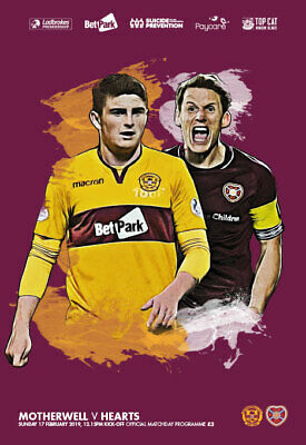 18/19 Motherwell v Hearts