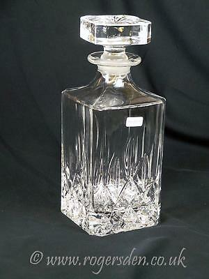 Royal Doulton   Crystal Glass Decanter  Seasons Pattern NEW TAKEN FROM A SET