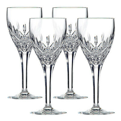 NEW Royal Doulton Crystal Highclere Wine Set 4pce