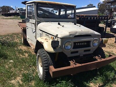 Landcruiser ute, FJ45, 1972, Petrol engine Runs and drives, No rust