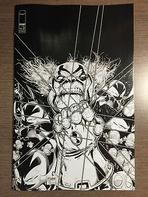 Spawn Kills Everyone Too #3 - B&W Variant Cover - 1St Print - Image (2019)