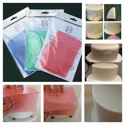 Coloured Flexi Flexible Cake Smoothers SELECT Extra Large or Medium