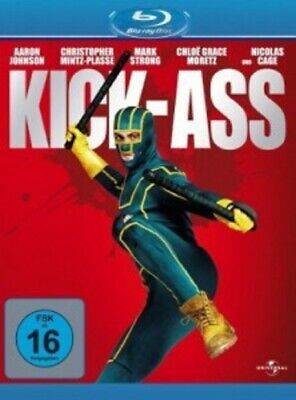 Kick-Ass -  Blu-Ray New Aaron Johnson,christopher Mintz-Plasse,mark Strong