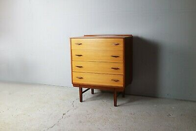 1970's French mid century chest of drawers
