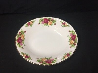 Royal Albert Old Country Roses Oval Vegetable Serving Bowl England 1962 New