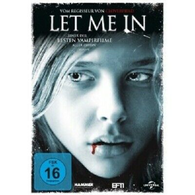 Let Me In -  Dvd New Kodi Smit-Mcphee,Chloe Grace Moretz,Richard Jenkin